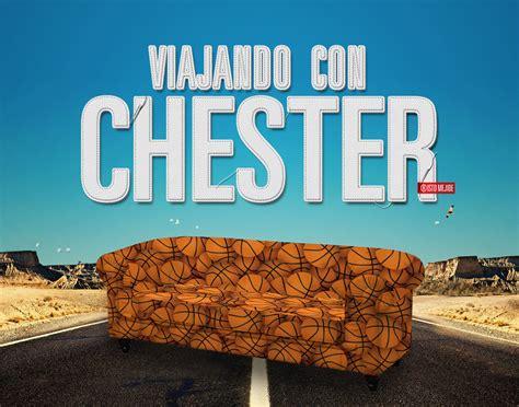 Diseño Viajando con Chester | FeedBack Media