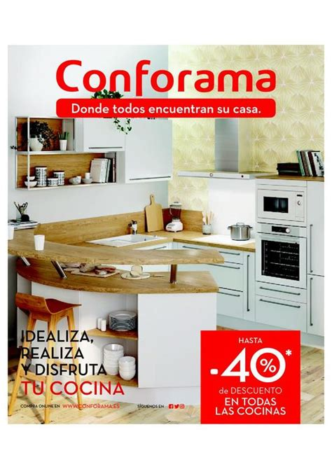 Diseños de cocina: Catálogo Conforama cocinas 2018 ...