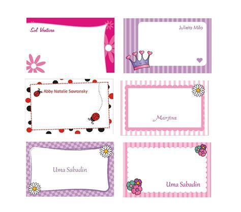 Diseños de tarjetas personales infantiles   Imagui