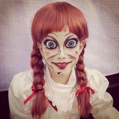 Disfraz De Anabelle Anabel Pelicula Halloween Con Peluca ...