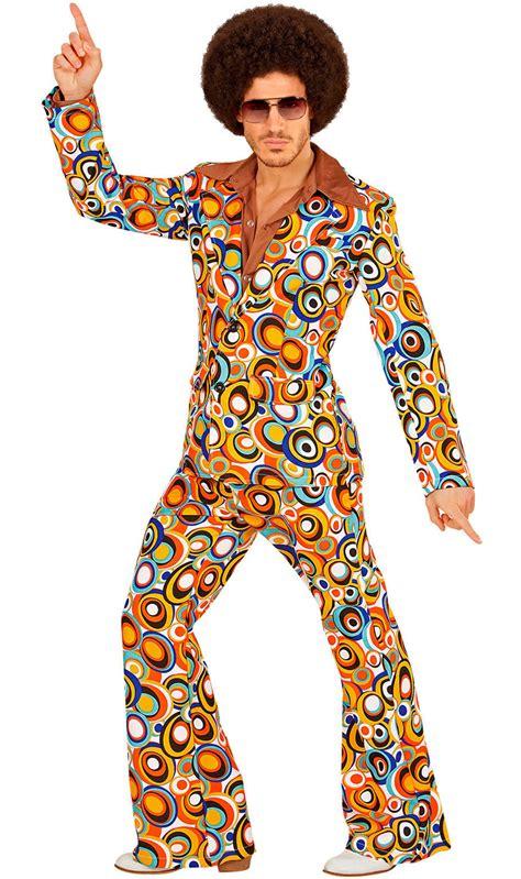 Disfraz de Años 70 Bubbles para hombre