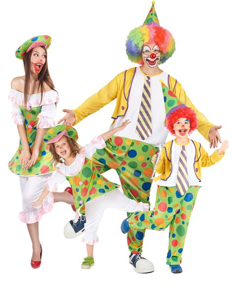 Disfraz de familia payasos: Disfraces parejas,y disfraces ...