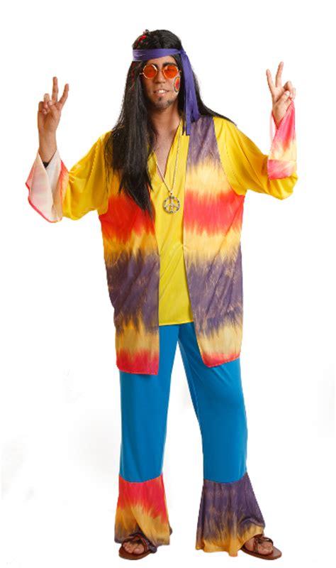 Disfraz de hippie años 70 para hombre por 19,75