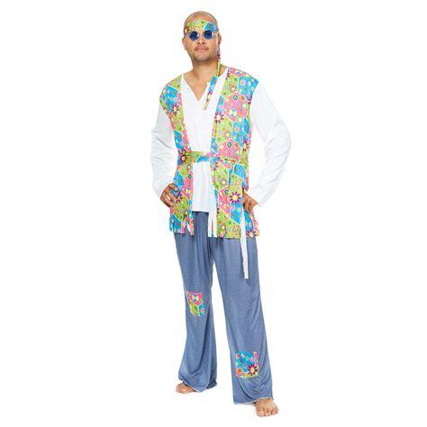 Disfraz de hippie para hombre Hombre - rosa - Kiabi - 20,00€