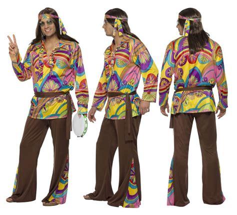 Disfraz de Hippy Psicodélico para Hombre talla XL ...