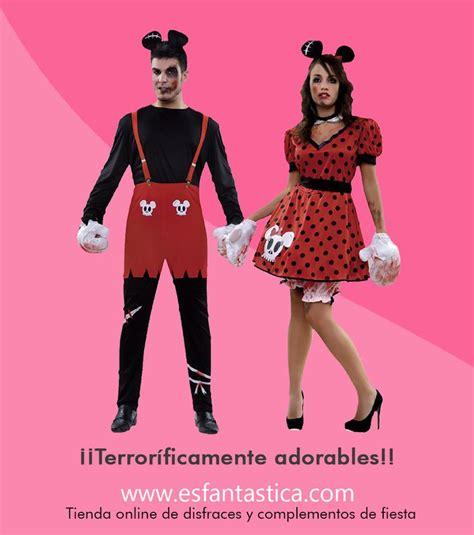 Disfraz de Mickey y Minnie poseídos. Disfraces para ...