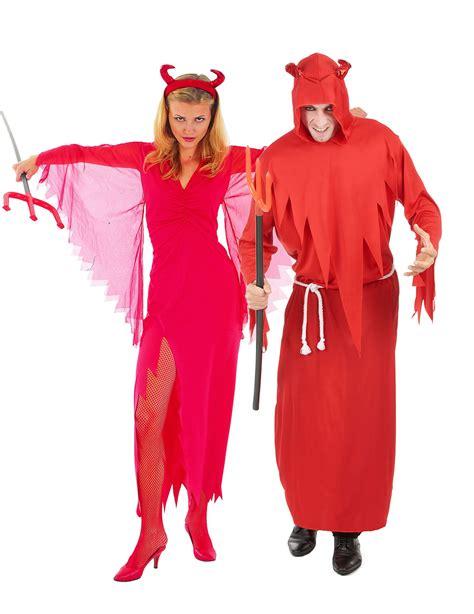 Disfraz de pareja diablo rojo Halloween: Disfraces parejas ...