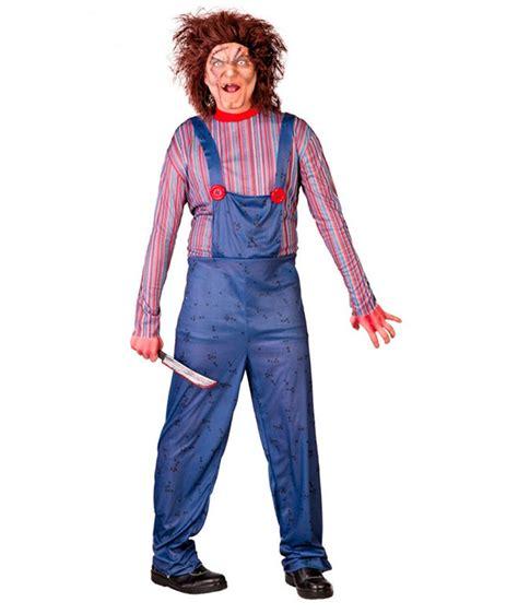 Disfraz para Halloween de Killer Doll para hombre