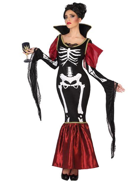 Disfraz vampiro esqueleto mujer Halloween: Disfraces ...