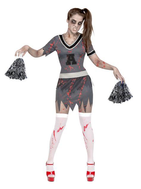 Disfraz zombie animadora Halloween mujer: Disfraces ...
