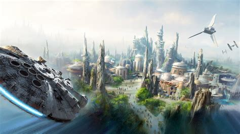 Disney Avenue: Disneyland s Star Wars Land Progress Report