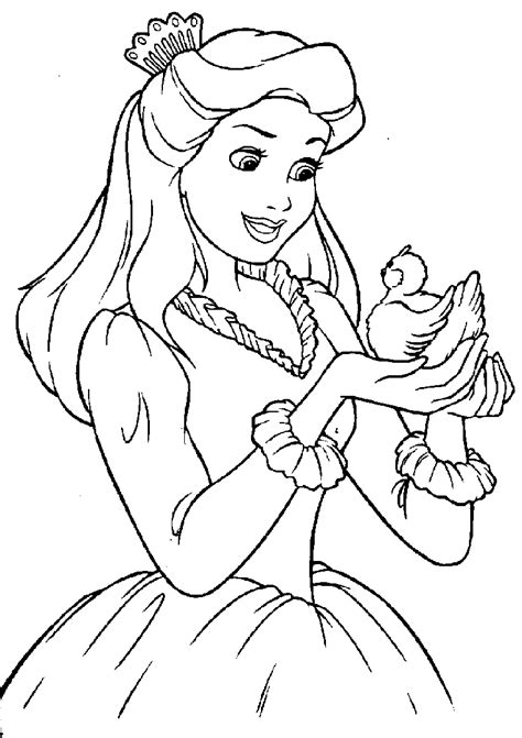 Disney Princess Coloring Pages - Free Printable Pictures ...
