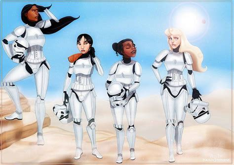Disney Princesses Reimagined as Star Wars Characters   E! News