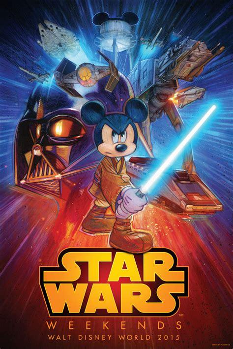 Disney Releases STAR WARS WEEKENDS 2015 Poster Art ...