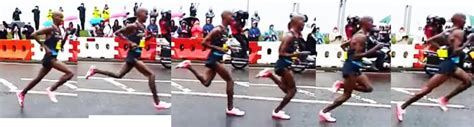 Distance running technique