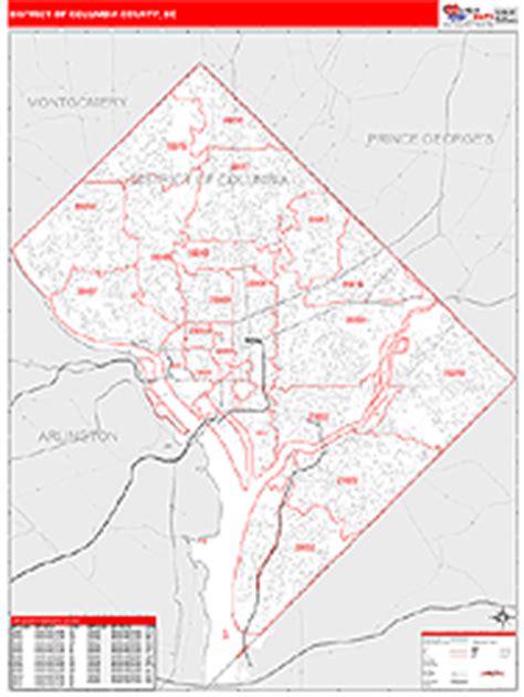 District Of Columbia Zip Code Map | Zip Code Map