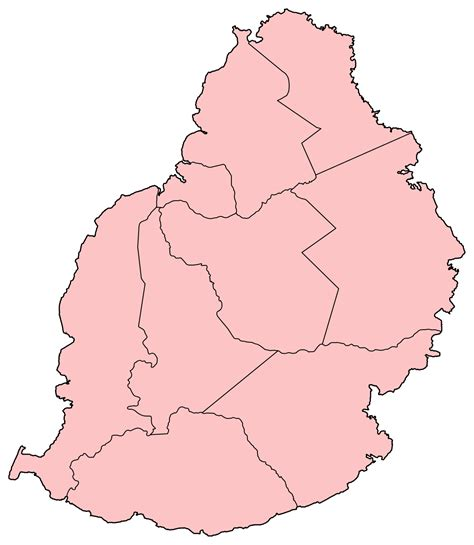 Districts of Mauritius - Wikipedia