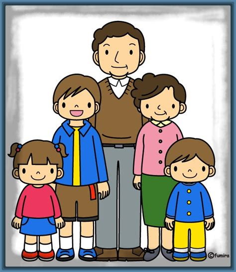 Divertidas Imagenes de la Familia para Niños   Imagenes de ...