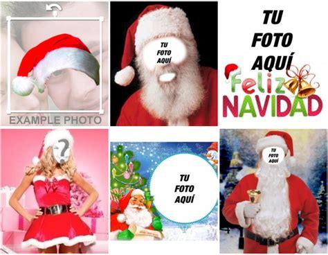 Divertidos fotomontajes de Santa Claus y Navidad   Fotoefectos