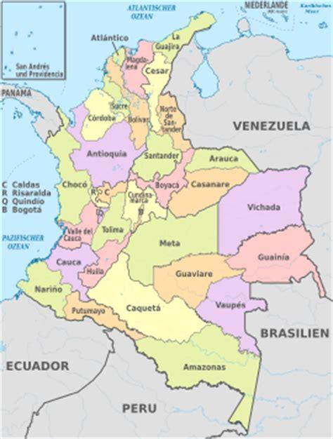 Division Politica de Colombia para el Grado 4º