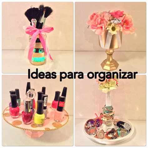 DiY 4 ideas para organizar tu cuarto / manualidades ...