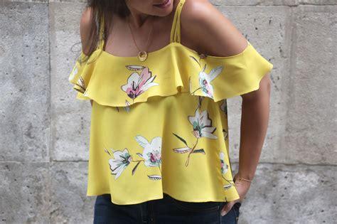 DIY Costura Blusa sin hombros (patrones gratis) | | Oh ...