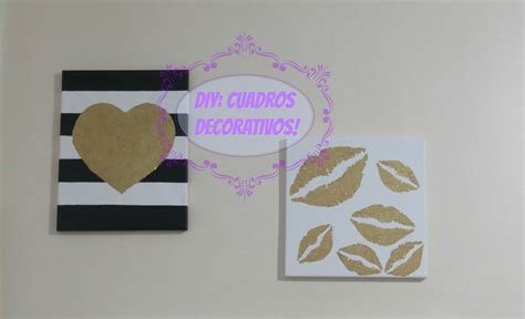 DIY: Cuadros Decorativos   YouTube