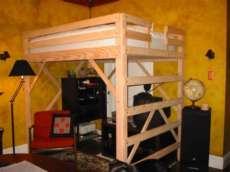 DIY Full Size Loft Beds with Desk : Direction Full Size ...