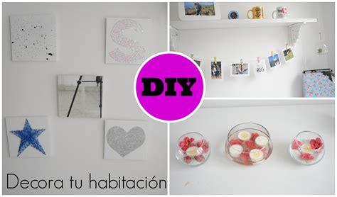 DIY Ideas para decorar tu habitación   YouTube