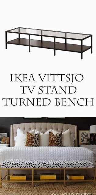 DIY IKEA HACK. Un banco para colocar a los pies de la cama ...