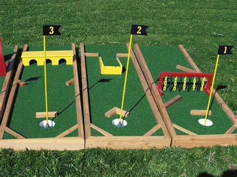 DIY Mini Golf Obstacles   Crafts/DIY   Pinterest   Golf ...