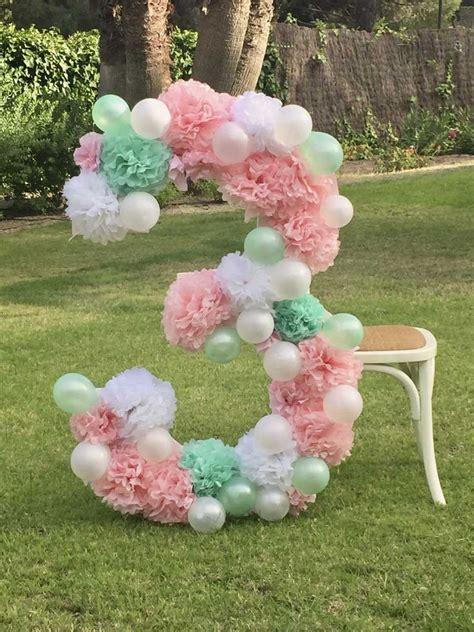 DIY Número XL decorado para Photocall – La Fiesta de Olivia