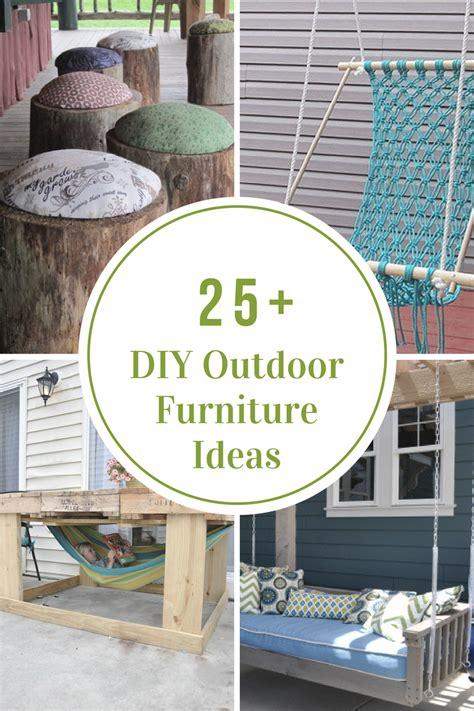DIY Outdoor Furniture Ideas   The Idea Room