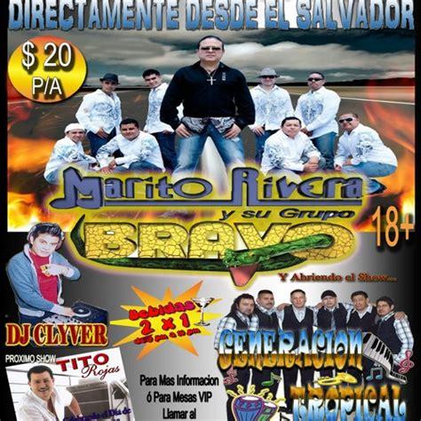 DJ Clyver   Marito Rivera Y Su Grupo Bravo Mix  Viernes 20 ...