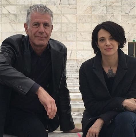 Dlisted   Anthony Bourdain And Asia Argento Are A Thing Now