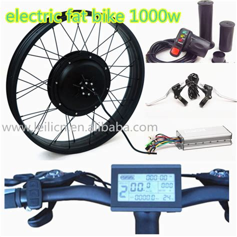 DlY Electric Fat Bike Conversion Kit 48v 1000w for fat ...