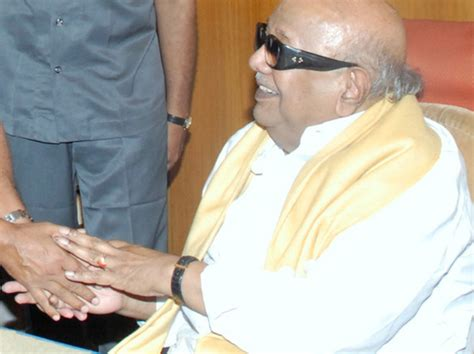 DMK chief Karunanidhi admitted at Kauvery hospital in ...