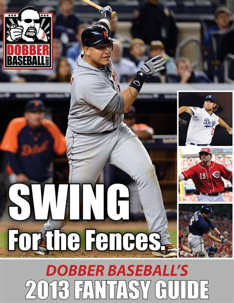 Dobber's 2013 Fantasy Baseball Guide | Dobber Sports