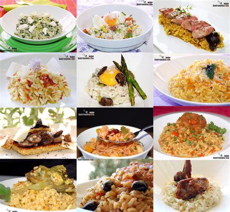 Doce recetas de arroz