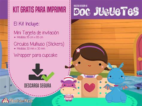 Doctora Juguetes: Invitaciones para imprimir y más   Mundo ...
