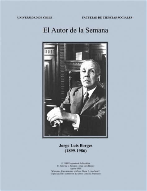 Documento Borges, Jorge Luis   Selección De Poemas Y ...