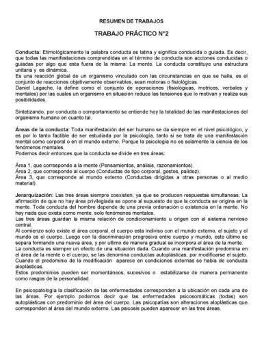 Documento Definiciones sobre conceptos de psicologia ...
