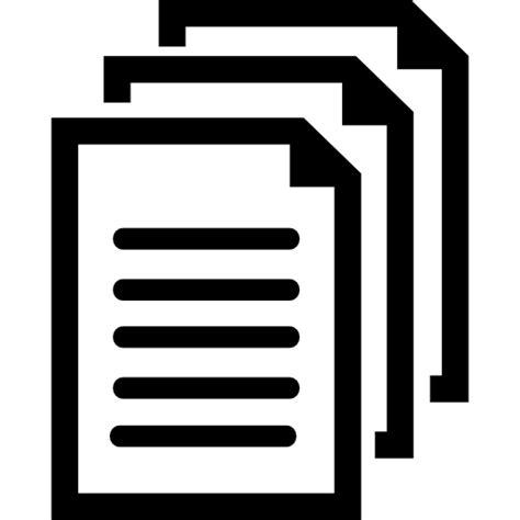 Documentos símbolo   Iconos gratis de interfaz