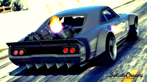 Dodge Charger Fast & Furious 8 [ADDON REPLACE HQ]   GTA5 ...