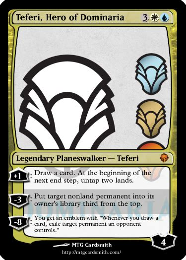 Dominaria FAQ Leaked: Planeswalkers, Mechanics, Story, and ...