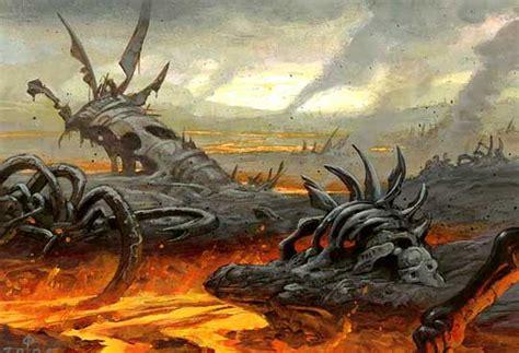 DOMINARIA - Urborg's Volcano [A5.3] (Quest Magic RPG MTG Deck)