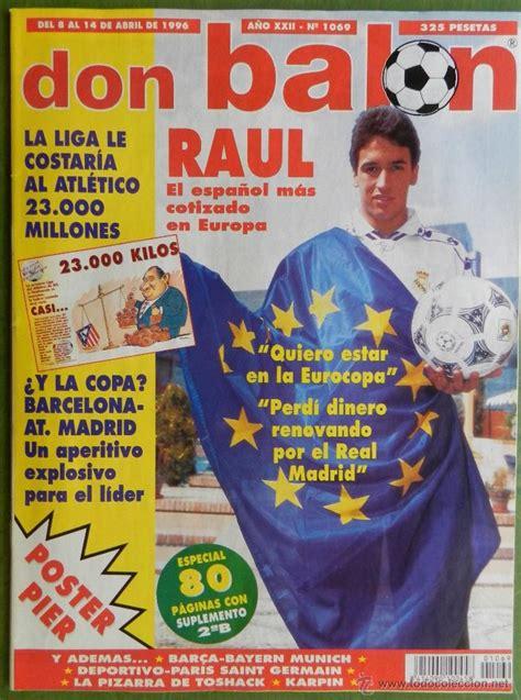 don balon 1996 atletico de madrid previo final   Comprar ...