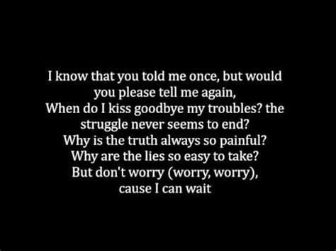 Don't Worry - Soja (lyrics) - YouTube
