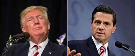 Donald Trump and Mexican President Trade Barbs Over Money ...
