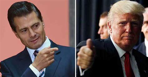 Donald Trump y Enrique Peña Nieto se reunen